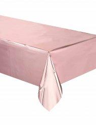 Toalha de plástico cor-de-rosa gold 137 x 274 cm