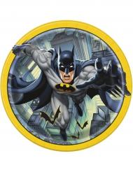 8 Pratos de cartão Batman™