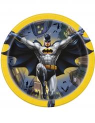 8 Pequenos pratos de cartão Batman™