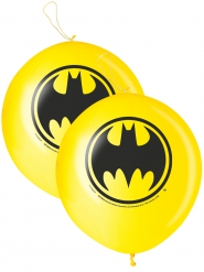 2 Balões punch-ball Batman™ 40 cm