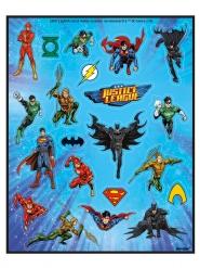 4 Folhas de adesivos Liga da Justiça™