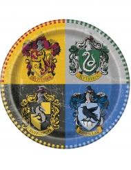 8 Pratos de cartão Harry Potter™