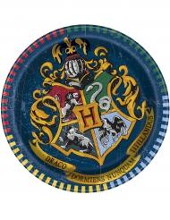 8 Pratos pequenos de cartão Harry Potter™