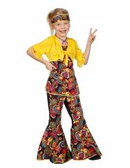 Disfarce disco hippie menina