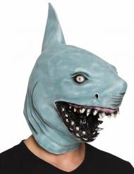 Máscara tubarão em látex adulto