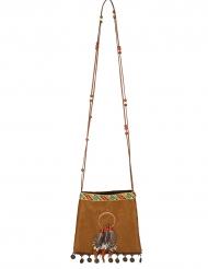 Bolsa índia caça sonhos 21 cm