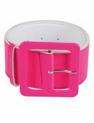 Cinto cor-de-rosa fluo