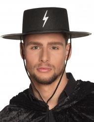 Chapéu justiceiro mascarado adulto