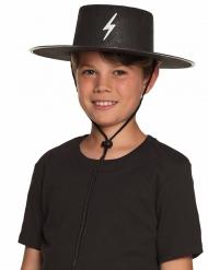 Chapéu justiceiro mascarado criança