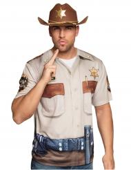 T-shirt xerife adulto