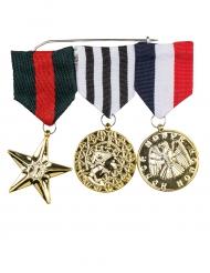 3 Medalhas de honra adulto