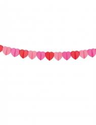 Grinalda de papel corações Love You