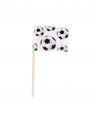 24 Palitos Futebol party 7 cm