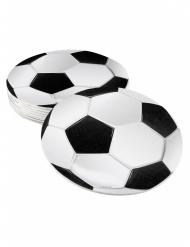 6 Porta-copos Futebol Party