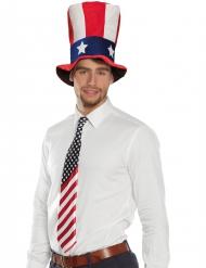 Gravata bandeira americana adulto