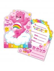 8 Convites com envelopes Ursinhos Carinhosos™