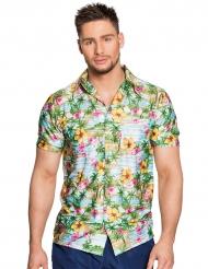Camisa Havaí paradise adulto