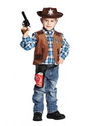 Casaco de cowboy criança