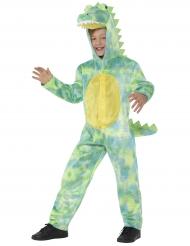 Disfarce crocodilo luxo criança