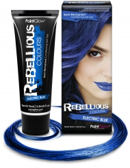 Tinta semi-permanente para cabelo azul fluorescente 70 mL