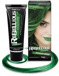 Tinta de cabelo verde