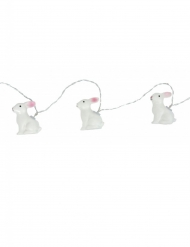 Grinalda luminosa coelhos