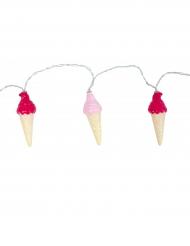 Grinalda luminosa cones de gelado
