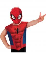 T-shirt e máscara Spiderman™ criança