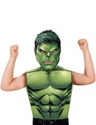 T-shirt e máscara Hulk™ criança