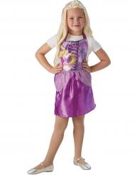 Vestido com tiara Rapunzel™ criança