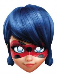Máscara de cartão Miraculous Lady Bug™ criança