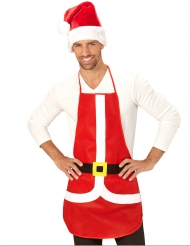 Avental vermelho Natal