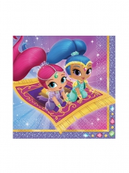 20 Guardanapos de papel Shimmer & Shine™