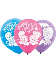 6 Balões látex Shimmer & Shine™