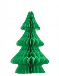Centro de mesa árvore de natal verde