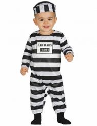 Disfarce prisioneiro para bebé