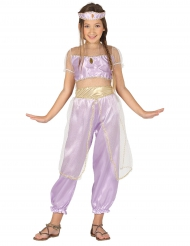 Disfarce princesa do deserto lilás menina
