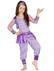 Disfarce bailarina oriental lilás menina