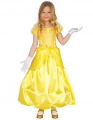 Disfarce princesa encantada amarelo menina