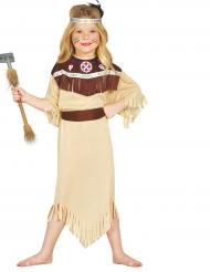 Disfarce índia cherokee menina