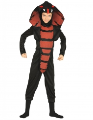 Disfarce ninja cobra menino