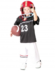 Disfarce jogador de futebol americano menino