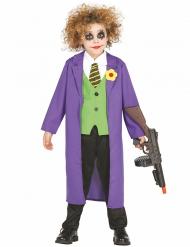 Disfarce palhaço joker criança
