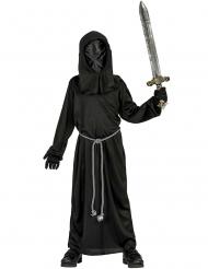 Disfarce monge da obscuridão criança Halloween