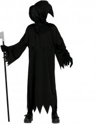 Disfarce fantasma da morte criança Halloween