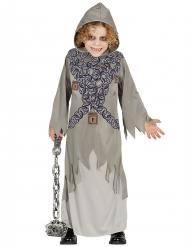Disfarce fantasma cinzento criança Halloween