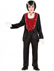 Disfarce conde das tréguas menino Halloween