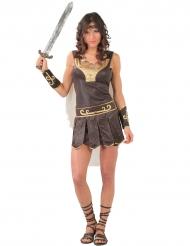 Disfarce guerreira romana mulher