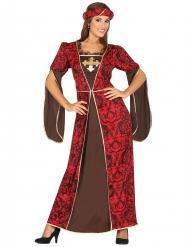 Disfarce medieval mulher