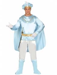 Disfarce príncipe azul homem